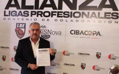 Se concreta alianza histórica entre las tres Ligas de Baloncesto Profesional