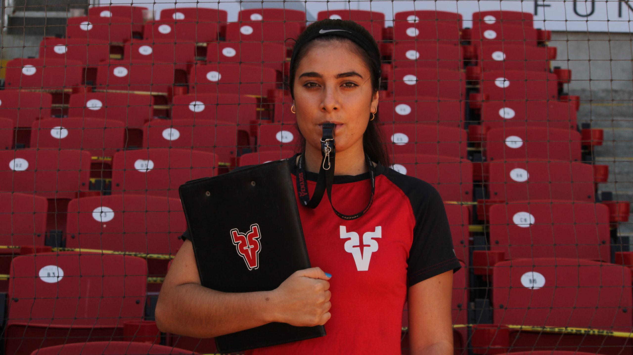 Karime Flores se abre camino en el beisbol profesional