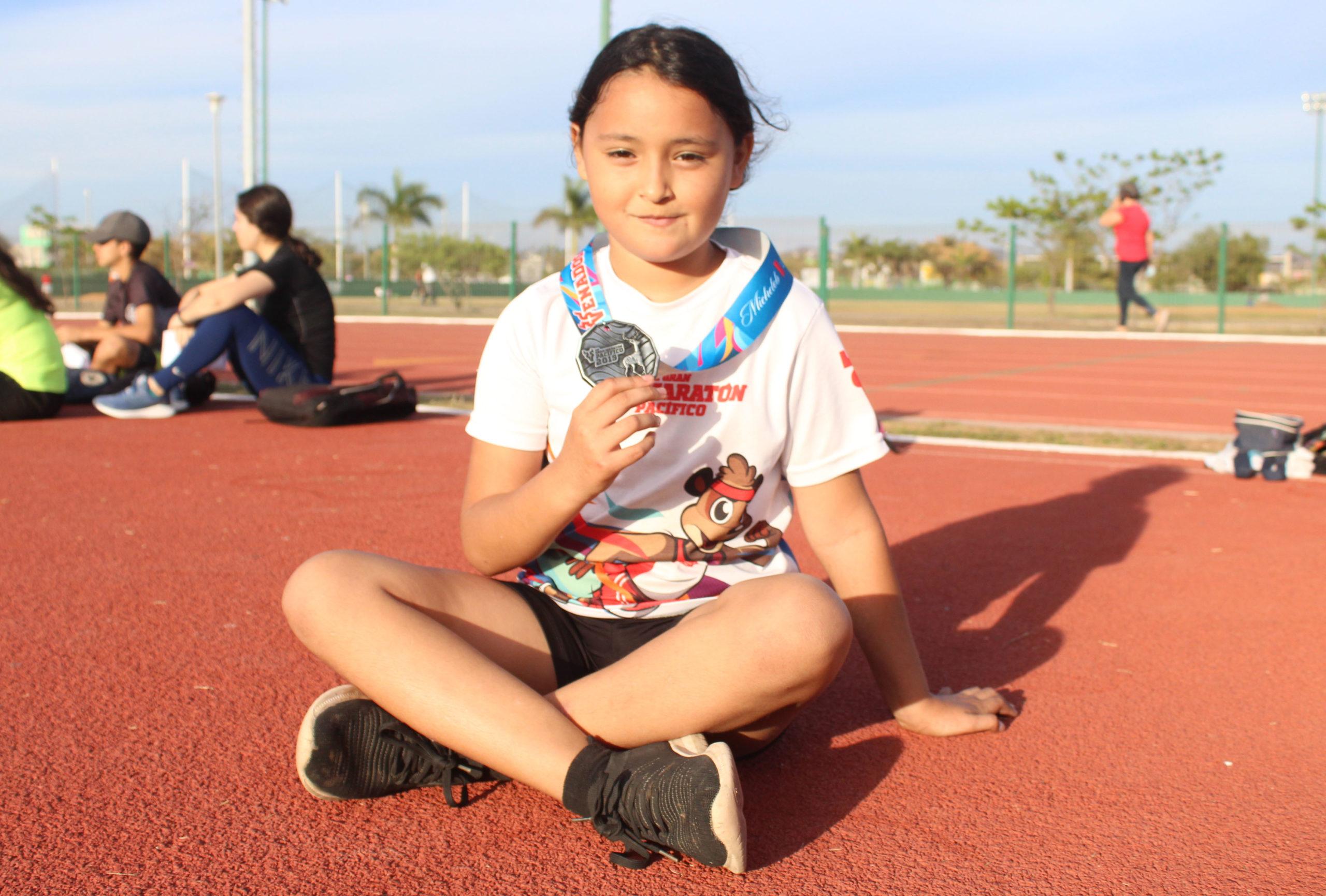 Lupita Hernández, la pequeña que sueña con ser campeona nacional