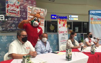 Venados de Mazatlán se une a campaña Bigotes de Leche