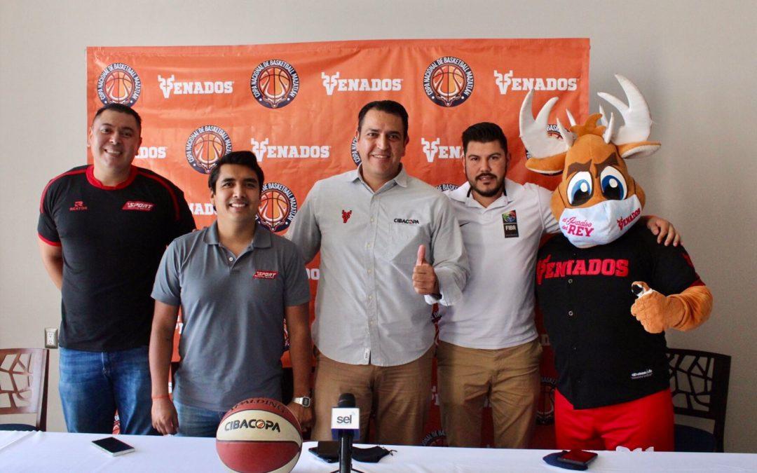 Anuncian de manera oficial la Copa Mazatlán Basketball-Venados