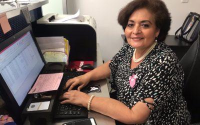 La sonrisa en la oficina de Venados de Mazatlán: Betty Álvarez