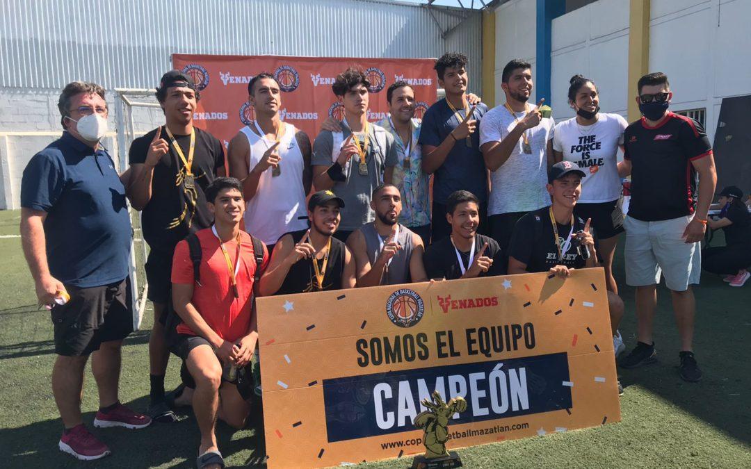Gran Clausura se vive en la Copa Mazatlán Basketball-Venados 2021