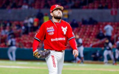 Irwin Delgado se lleva el primer triunfo en la Liga Mexicana de Beisbol