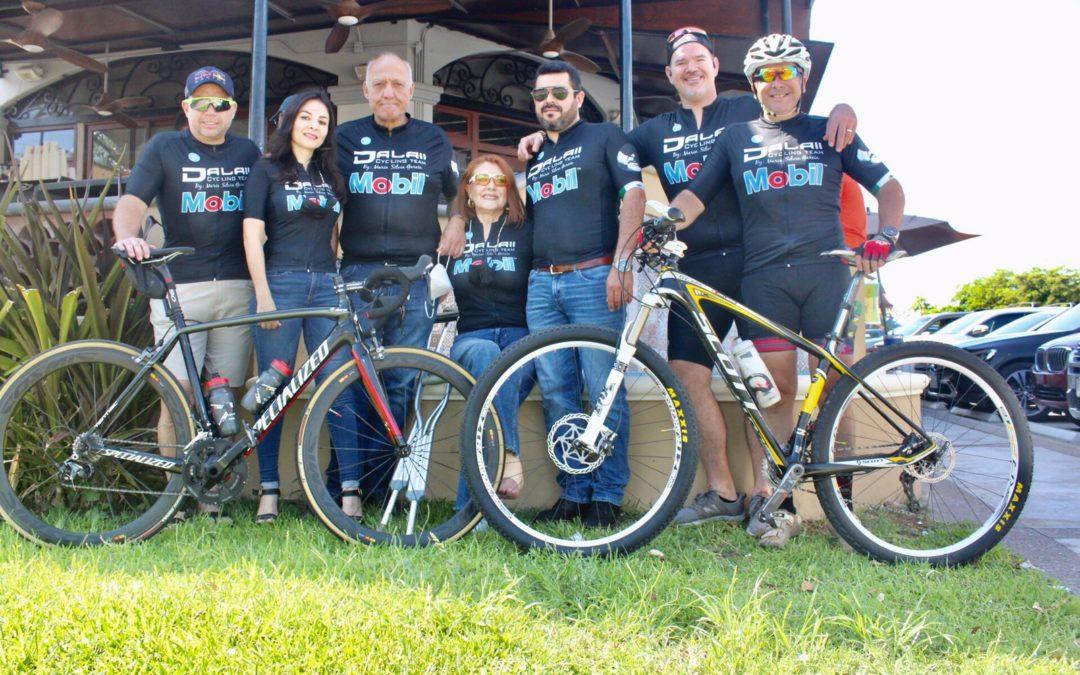 El equipo de Dalay-Mobil vive la aventura del ciclismo como familia
