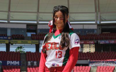 La venadita Danna Viera a Mundial Pony League