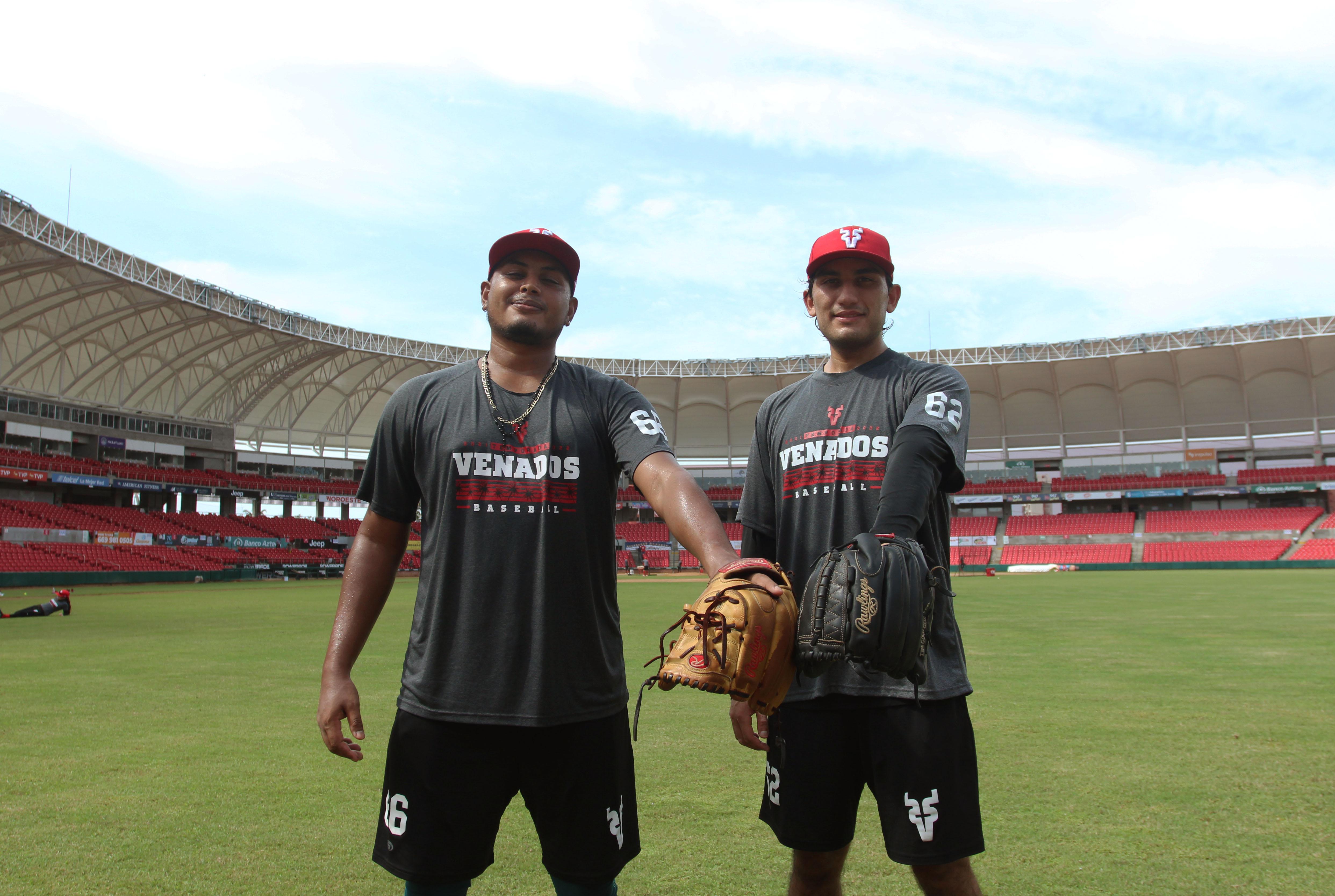 Decididos a fortalecer el relevo, Marco Rivas y Roberto Espinosa reportan con Venados de Mazatlán