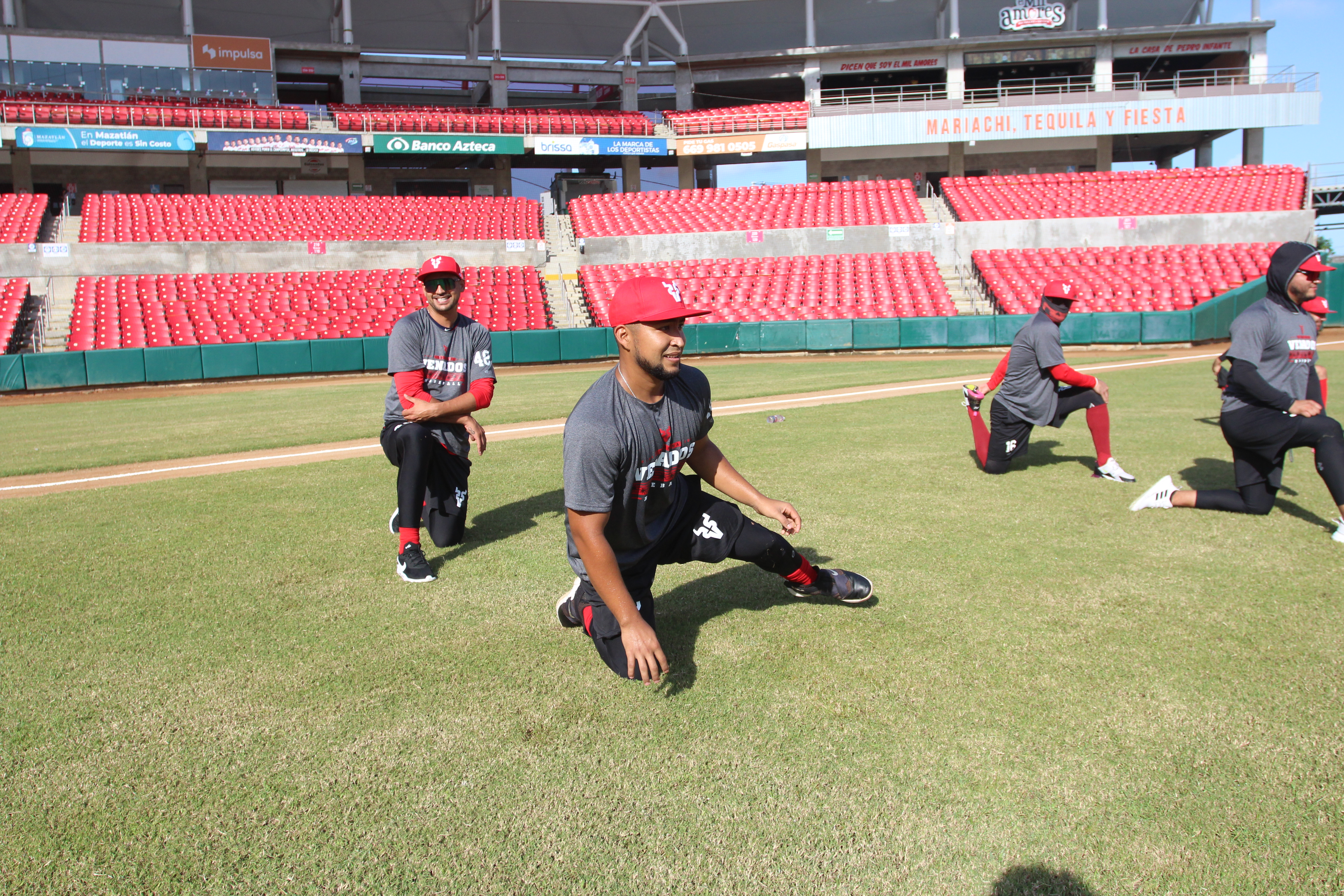 Brayan Quintero y Edgar Torres reportan y entrenan duro con Venados de Mazatlán